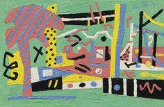 davis stuart summer landscape 2   abstract   sotheby's n08996lot6t32sen