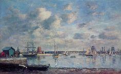 Eugène Boudin - Port de Camaret