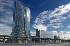 Marseille : projet Euroméditerranée - Tour CMA CGM Architecte Zaha Hadid 2008