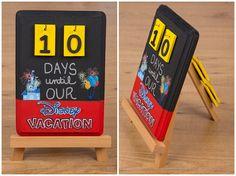 Make this Disney Countdown Calendar vacation countdown Disney Time, Disney World Vacation, Disney Fun, Disney Cruise, Disney Vacations, Walt Disney, Disney Destinations, Disney Family, Disney Stuff
