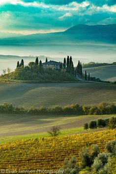 Belvedere near San Quirico d'Orcia, Tuscany, Italy