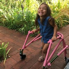 #Saya Marchand gets pink walker from Adelaide business as family continues to fundraise - NEWS.com.au: NEWS.com.au Saya Marchand gets pink…