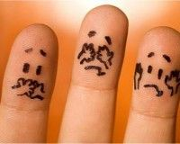 Finger+Faces | Finger Faces | Cute Pictures and Videos