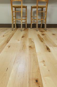 Enchanting Wide Plank Hardwood Floors - Decornish [dot] com Maple Hardwood Floors, Maple Floors, Cleaning Wood Floors, Hardwood, Flooring, Wide Plank Hardwood Floors, Faux Hardwood, Bamboo Flooring, Modern Wood Floors
