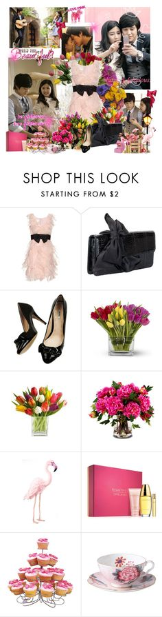 """""""Kim Bum and Eun So"""" by shinee-pearly ❤ liked on Polyvore featuring Notte by Marchesa, Christian Louboutin, Miu Miu, New Growth Designs, Victoria's Secret, Estée Lauder and Wedgwood"""
