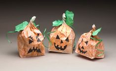 Paper Bag Pumpkin Patch craft