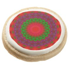 Party 012 Round Shortbread Cookies - Pack of 4