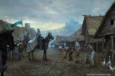 Znalezione obrazy dla zapytania fantasy village