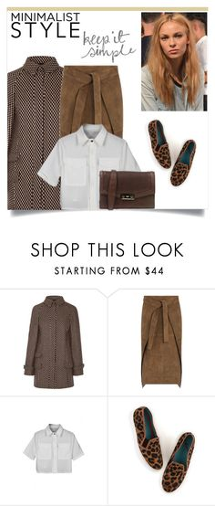 """""""Simply Chic : Minimalist Style"""" by rosalie45 ❤ liked on Polyvore featuring mode, Wes Gordon, Joseph, Boden et Ports 1961"""