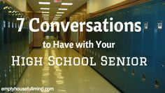 Don't let your high school senior leave for college without having these important conversations.