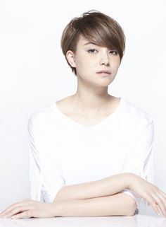 Image result for asian pixie cut
