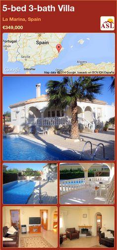 5-bed 3-bath Villa in La Marina, Spain ►€349,000 #PropertyForSaleInSpain