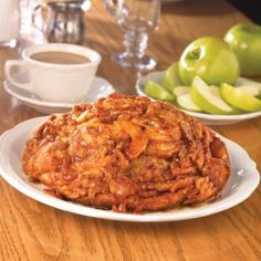 Richard Walker's Apple Pancakes - cut salt in half. Add a third apple. More cinnamon less nutmeg