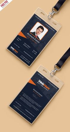 Download Free Vertical Company Identity Card Template PSD. This Vertical Company Identity Card Template is a designed for any types of agency, corporate and small big companies. This Vertical Company Identity Card Template PSD based CMYK 300 DPI and 2.13×3.39 Inch sizes with 2 PSD (Front and Back). Very easy to customized, grouped in organized folders and layers is well named, so it's very easy to make custom changes.