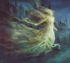 MtG Art: Spirit Token from Shadows over Innistrad Set by Jason A. Engle - MTG ART - Art of Magic: the Gathering