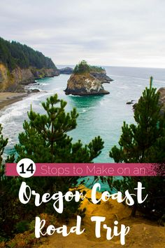 14 Stops to Make on an Oregon Coast Road Trip 14 Stops to Make on an Oregon Coast Road Trip - USA Travel Road Trip Usa, Oregon Road Trip, West Coast Road Trip, Oregon Coast Roadtrip, Backpacking Oregon, Oregon Camping, West Coast Living, West Coast Trail, Usa Roadtrip