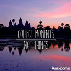 Collect Moments, Not things. #travelquote #quote #qotd #travelinspiration #wanderlust #quoteoftheday #travel #sea #getaway #summer #getlost #holiday #vacation #boracay #asiarooms Photo by Gunther Deichmann for AsiaRooms.com