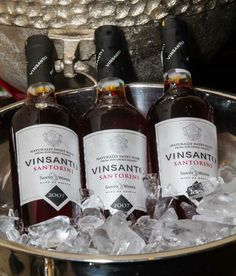 Santo Santorini Vinsanto is a great way to end your night on a sweet note.  WhoNeedsPort?