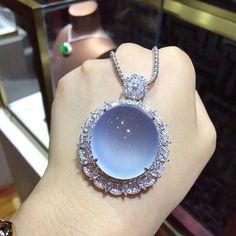 Jadeite & diamond