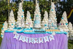 Disney's Frozen Inspired Birthday Party {Ideas, Decor, Planning, Cake