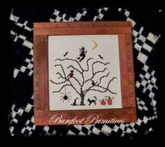 All Hallows Tree cross stitch BP $6.50