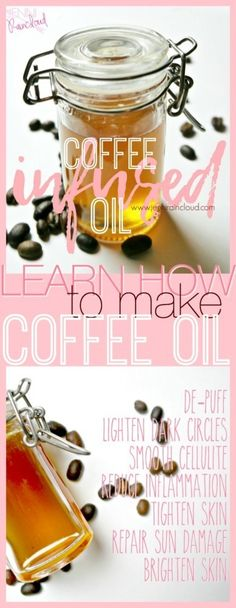 Learn How to Make Coffee Infused Oil