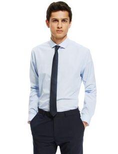 Slim Fit Checked Shirt | M&S