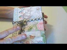 April 2014 G45 Botanical Tea - Envelope Mini Album by Susie; Creativecafegirl  (using Tutorial by Cassie Keith)