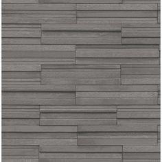 Fine Decor Ceramica Slate Tile Washable Wallpaper Charcoal (FD40126) - Fine Decor from I love wallpaper UK