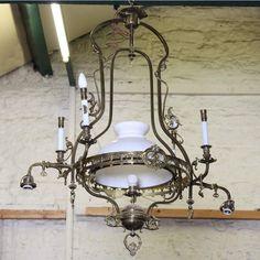 Brass chandelier - ATVMLIA0154