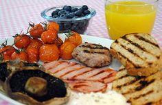 Super Skinny Grilled Breakfast
