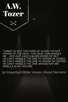 Bible verses about demons Demons are frequent characters in horror stories and films. Many people claim to have seen them or evidence of demonic possession. Worship Jesus, Praise And Worship, Christian Films, Christian Life, Encouraging Bible Verses, Scriptures, Jesus Quotes, Bible Quotes, Demons In The Bible