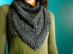 A little sister to Lionberry; the clouds to it's sunshine, the smoke to it's flame. Knit in the same yarn at the same gauge, great for wrapping around your neck or laying across your shoulders. Free pattern