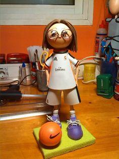 Fofuchas personalizadas (Real Madrid)