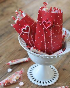 Embellishing with Candy Decorations