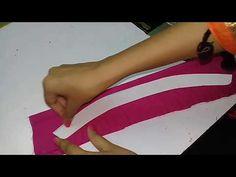 Collar लगाने का सबसे आसान तरीका, how to attatch collar to neckline, ladi. Chudidhar Neck Designs, Neck Designs For Suits, Blouse Neck Designs, Sleeve Designs, Designer Blouse Patterns, Skirt Patterns Sewing, Skirt Sewing, Pattern Sewing, Pattern Cutting