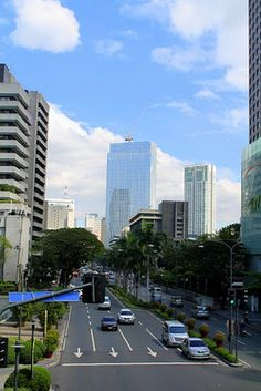 Makati is the financial center of the Philippines