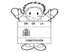 AYER TRABAJAMOS LA CONSTITUCIÓN EN CLASE. PINTAMOS LA BANDERA DE ESPAÑA Y NOS APRENDIMOS UNA POESÍA. ESTUDIAMOS QUE EN LA SOCIEDAD HAY ...