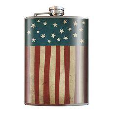 Old Glory flask