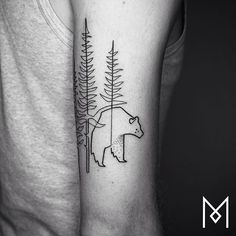 12826288 952899508159154 526112495 n Tattoo artist creates masterpieces with one continuous line (26 Photos)