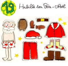 Dressing up Santa from l'atelier de la libellule