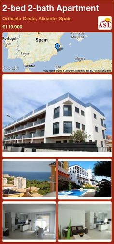 2-bed 2-bath Apartment in Orihuela Costa, Alicante, Spain ►€119,900 #PropertyForSaleInSpain