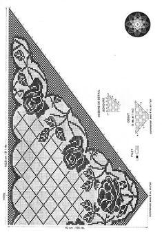 Kira scheme crochet: Scheme crochet no. 3161