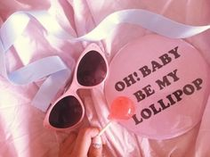 [ • pink - sunglasses - pastel - lollipop • ]