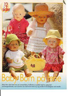Billede: Knitting Dolls Clothes, Sewing Dolls, Ag Dolls, Reborn Dolls, Baby Born Clothes, Bitty Baby Clothes, Pet Clothes, 12 Inch Doll Clothes, Dolly Fashion