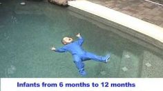 Every child should be taught this: Infant Swimming Resource Self-Rescue, via YouTube.