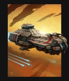 Battlecruiser by LeonovichDmitriy on deviantART