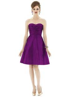 Lea's Dress: Alfred Sung D630 in Dahlia