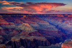 Grand Canyon sunset from Hopi Point - Yahoo Image Search Results Grand Canyon Arizona, Grand Canyon National Park, Arizona Sunrise, National Parks Usa, Park Service, Travel Usa, The Great Outdoors, Beautiful Places, Beautiful Scenery