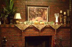 Fireplace Mantel Runners
